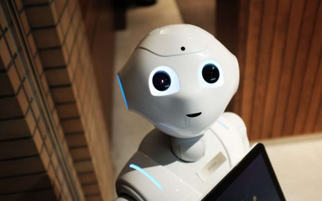 A Robot looking at the camera: will AI be the next growth industry?
