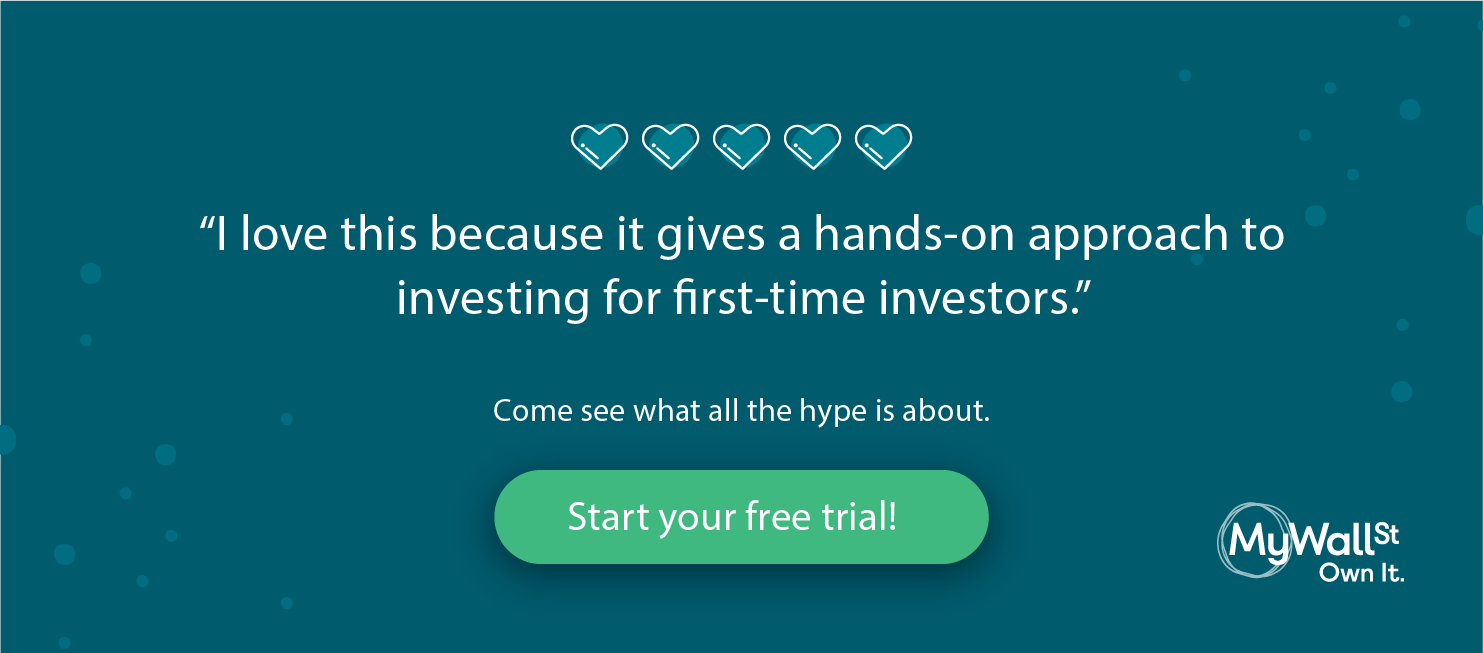 An app for First-time investors