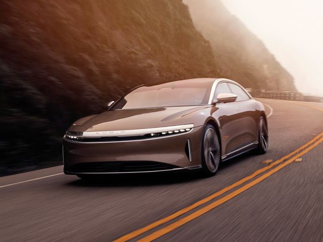 Lucid Motors electric car